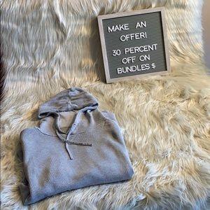 Textured Zara hoodie